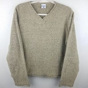 COLUMBIA Thick Knit Beige Sweater